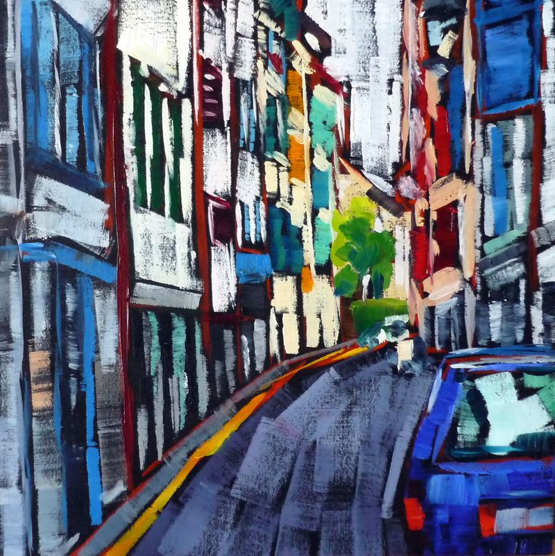 A Street in Bayonne