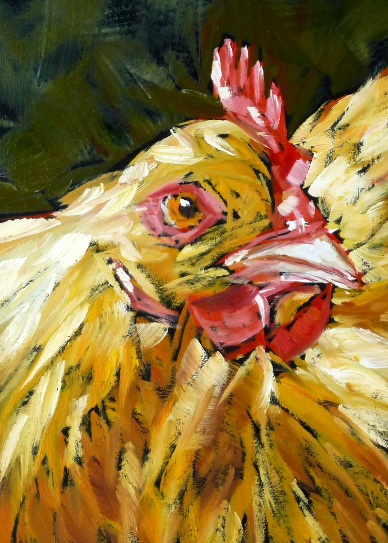 """""""Ladybird""""–A Chicken Portrait!"""