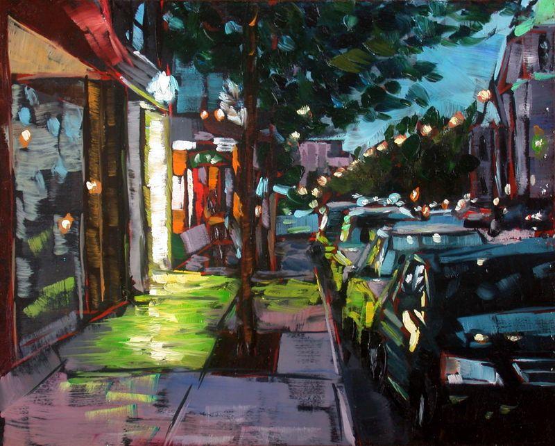 Rue Saint Denis, Montreal