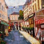 Paris Market Stalls