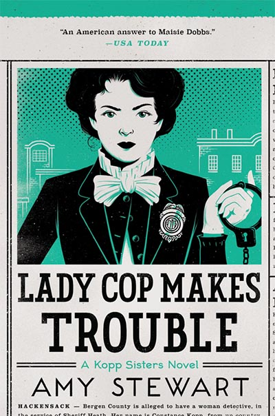 Cover of Lady Cop Makes Trouble