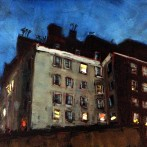 Greenwich Village at Night