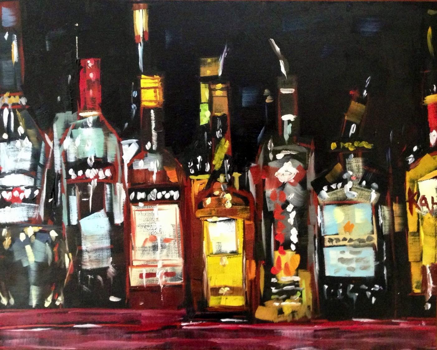 Whiskey bottles amy stewart for Liquor bottle art
