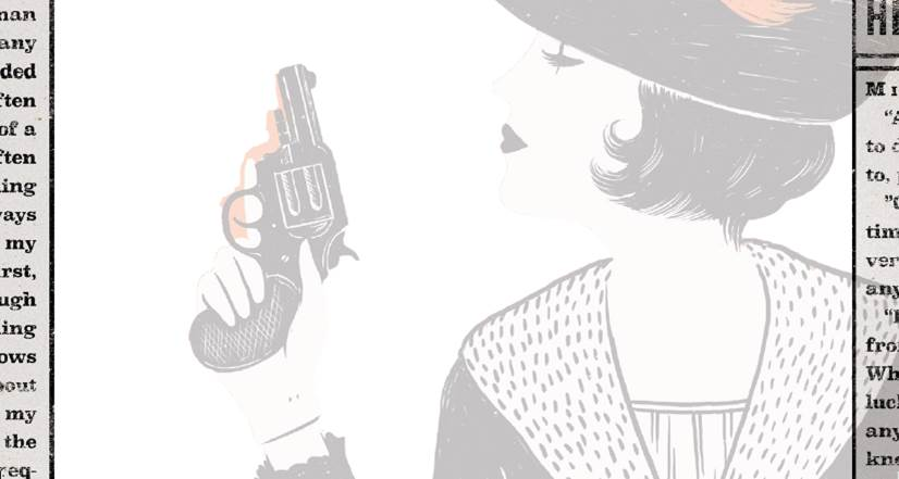 Girl Waits with Gun bookplate