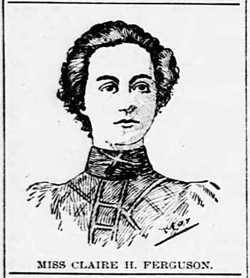 Claire Ferguson Kansas City Journal 1898