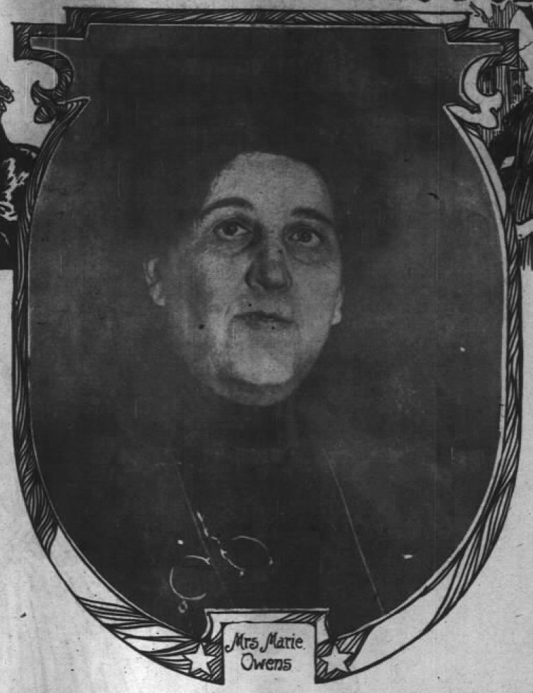 Marie Owens Chicago Daily Tribune 1906