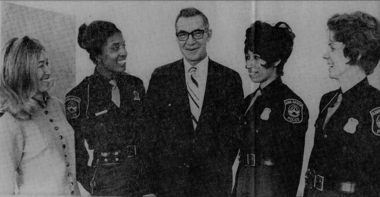 Three policewomen