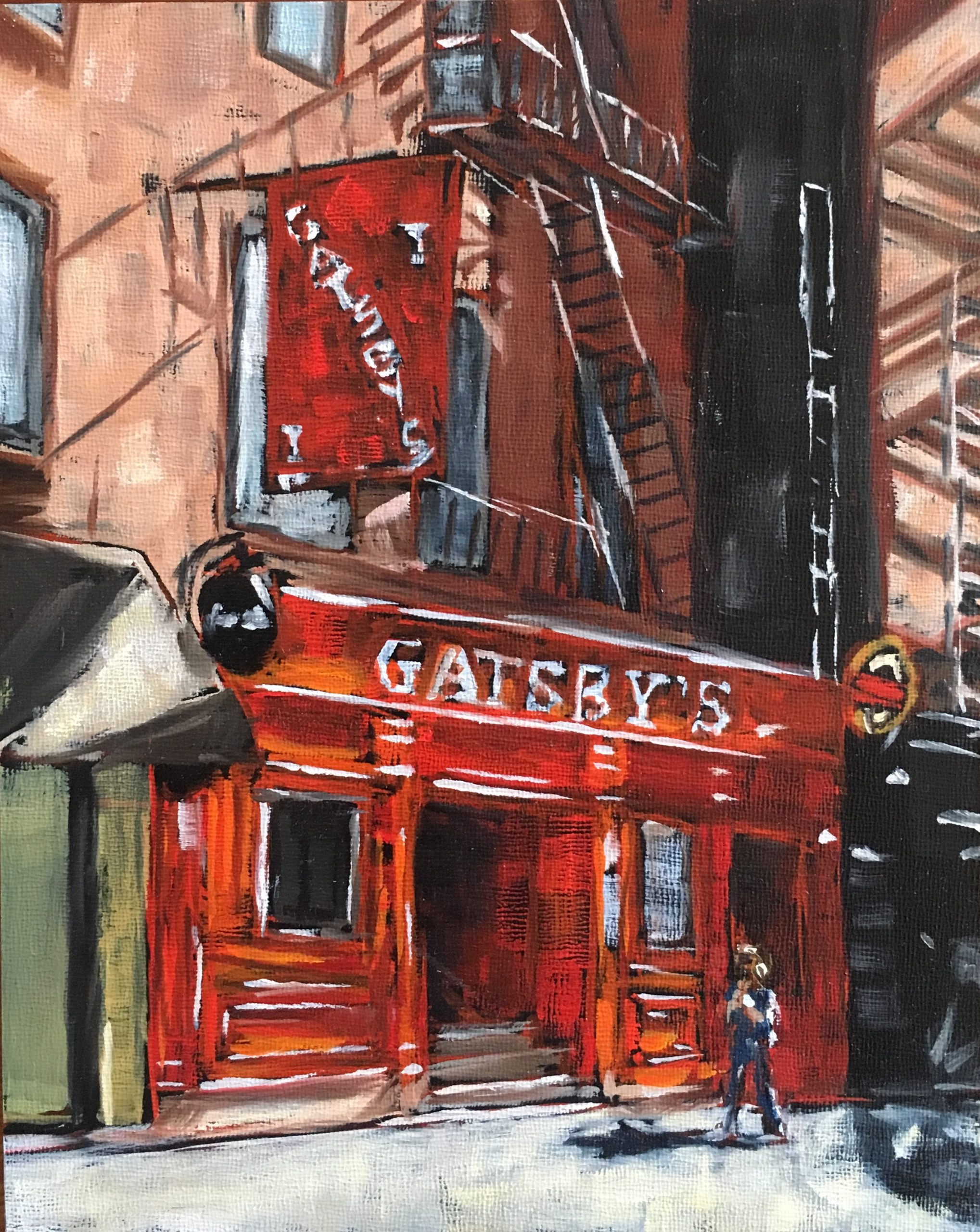 Gatsby's Bar, New York