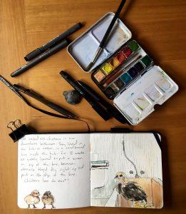 My Art Supplies | Amy Stewart