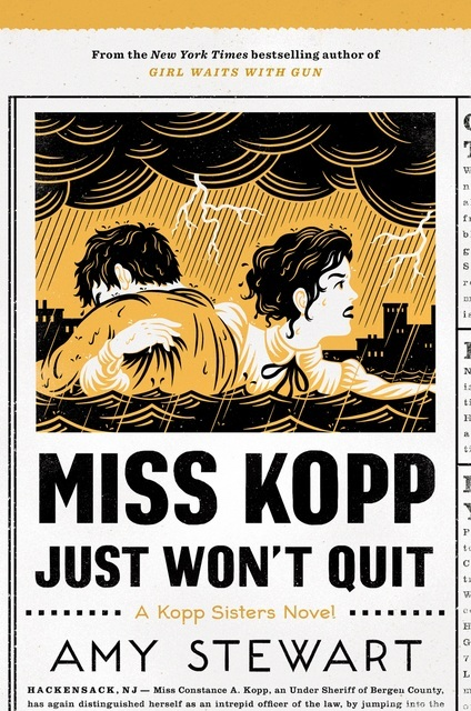 Cover of Miss Kopp Just Won't Quit