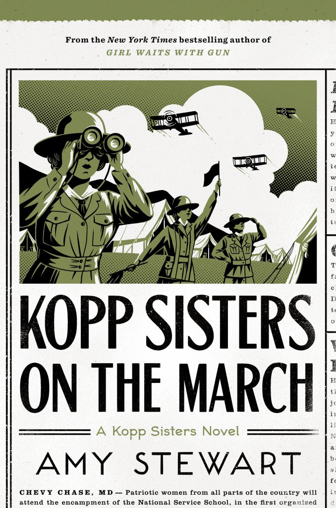 Cover of Kopp Sisters on the March