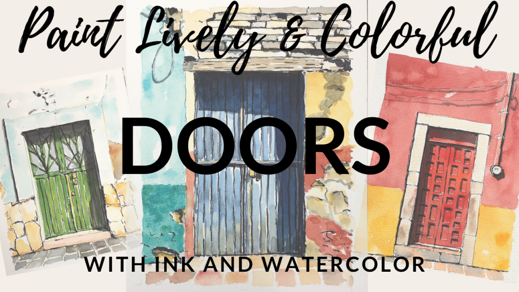 Paint Lively & Colorful Doors