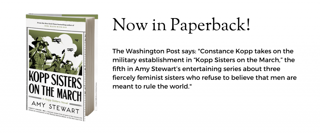 Kopp Sisters on the March: Now in paperback!