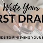 Are you ready to write your first draft?