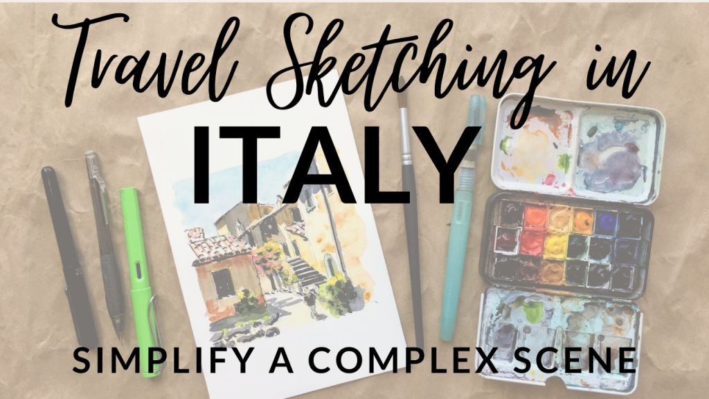 Travel Sketching in Italy: