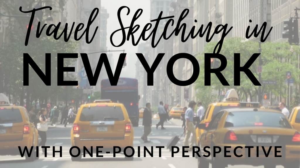 Travel Sketching in Manhattan