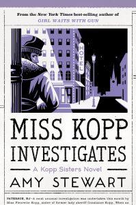 Book cover for Miss Kopp Investigates