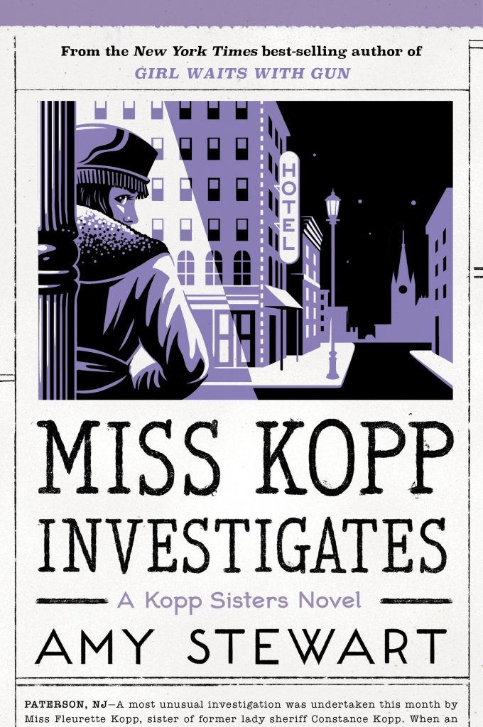 Book cover for Miss Kopp Investigates