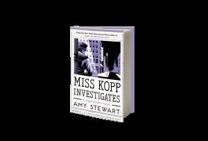 Book cover for Miss Kopp Investigates 3D image