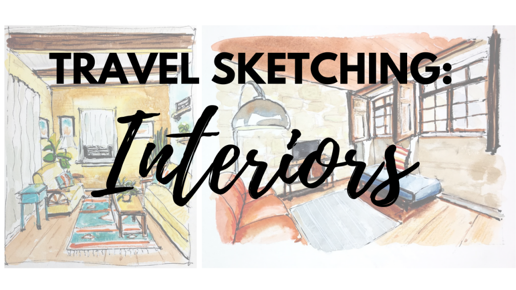 Travel Sketching Interiors